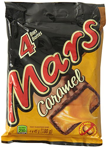 Mars Caramel Chocolate 4 Pack 180g