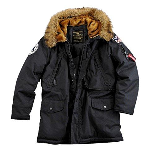 Alpha Industries – Polar Winterjacke schwarz günstig kaufen