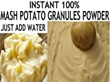 250g INSTANT MASH POTATO GRANULES POWDER FLOUR MIX **FREE UK POST** JUST ADD WATER READY MIX MASH POTATO DEHYDRATED POTATOES DRY POTATO SOPU GRAVIES SAUCES THICKNER POTATO POWDER
