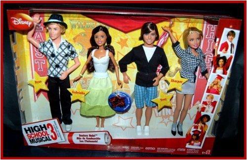 Sexy Fashion Dolls Shop: High School Musical 3 Seniors Rule! 4 Doll