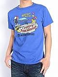 """(チェスウィック×ロードランナー) CHESWICK × ROAD RUNNER 東洋エンタープライズ Tシャツ """"PROFESSIONAL MOTOR SERVICE"""" 半袖Tシャツ CH77047-126 (M, 126(ロイヤル))"""