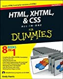img - for HTML, XHTML and CSS All-In-One For Dummies by Harris, Andy (2010) Paperback book / textbook / text book