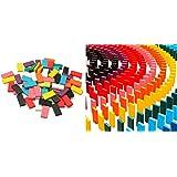 カラードミノ World Bridge マルチカラー 木製ドミノ 10色・12色 積み木としても◎ カラー 積木(12色)