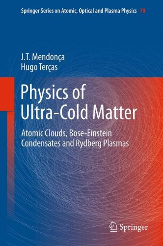 Physics Of Ultra-Cold Matter: Atomic Clouds, Bose-Einstein Condensates And Rydberg Plasmas (Springer Series On Atomic, Optical, And Plasma Physics)