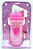 Princess Kids Pink Snack N Sip Pop-Up Straw Canteen Bottle
