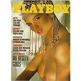 Playboy Magazin Deutsche Ausgabe 10/1988 Playmate Fénja Rühl, Coral Hampstead