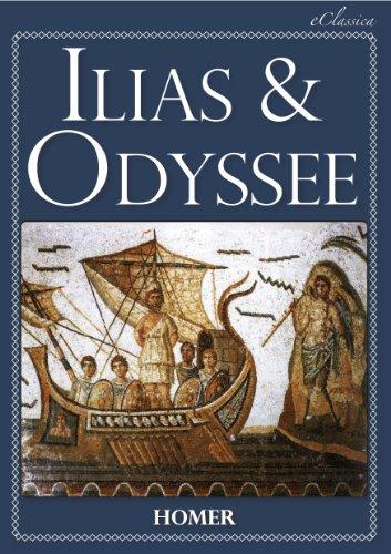 Homer. - Ilias & Odyssee (Vollständige deutsche Ausgabe, speziell für elektronische Lesegeräte) (German Edition)
