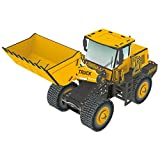 Top Race® 3D Puzzle Front Loader Tractor, No Glue, No Scissors, Easy to Assemble (66 Pieces)