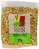 Good Food Pre-packed Organic Yellow Split Peas (Pack of 10)