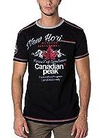 CANADIAN PEAK Camiseta Manga Corta Jartiste (Negro)