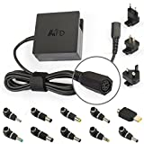 Tomeasy® 90W Universal Charger Laptop AC Adapter Power Supply,Output voltage 19V / 19.5V / 20V,90W PSU For Toshiba, IBM/Lenovo, Liteon, Fujitsu, Dell, Acer, Asus,Delta, Sony, HP Compaq, Gateway, Samsung,With UK+EU+US Plugs & 10 Connector Pins