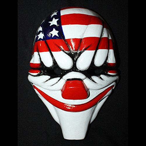 1:1 Custom Halloween Costume Cosplay Payday The Heist 2 Dallas Mask MA160