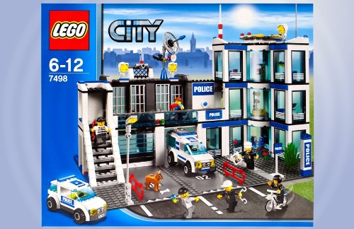 LEGO City 7498 Polizeistation