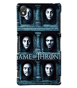 Blue Throat Game Of Thrones Hard Plastic Printed Back Cover/Case For Sony Xperia Z3