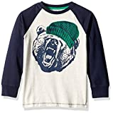 Gymboree Boys Big Boys Long-Sleeve Graphic Tee with Sleeve Detail