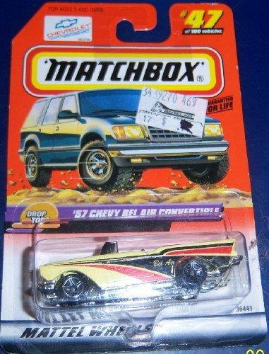 Matchbox #47 '57 chevy Converitble - 1
