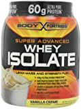 Body Fortress Super Advanced Whey Isolate, Vanilla Creme, 2 Pounds