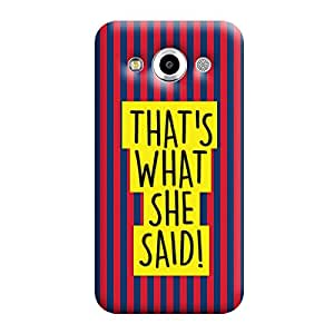 Garmor That's what she said Design plastic back cover for Samsung Galaxy Core Max SM-G5108
