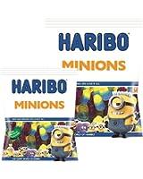 Haribo - Bonbon Haribo Minion 2x Grand Paquet 180grm Moi Moche Méchant