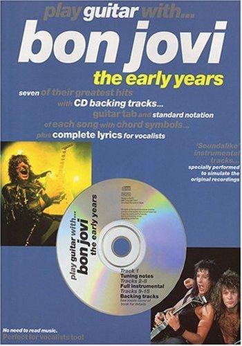 Play Guitar With Bon Jovi & CD (Book & CD)