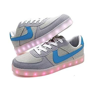 Amazon.com AnnabelZ LED Shoes USB Charging Light Up Shoes ...
