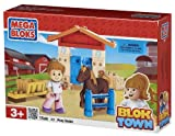 Mega Bloks Blok Town Pony Stable Buildable Playset