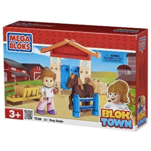 Megabloks Pony Stable