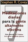 Meditaciones Diarias Para La Gente Altamente Efectiva (Biblioteca Covey)