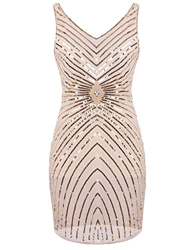 Vijiv-Womens-1920s-V-Neck-Art-Deco-Sequin-Beaded-Tank-Cocktail-Flapper-Dress
