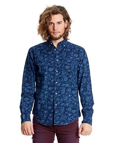 Springfield Camisa Hombre Azul Marino