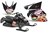 2012+ Arctic Cat ProCross Sno Pro AMRRACING Sled Graphics Decal Kit - Vegas Baller - Black