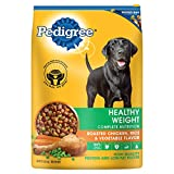 PEDIGREE Healthy Weight Roasted Chicken, Rice & Vegetable Flavor Dry Dog Food 15 Pounds