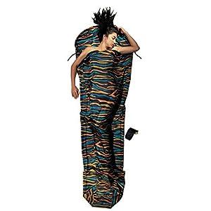 Cocoon Silk MummyLiner (Afr Night, 95-Inch x 35/22-Inch)