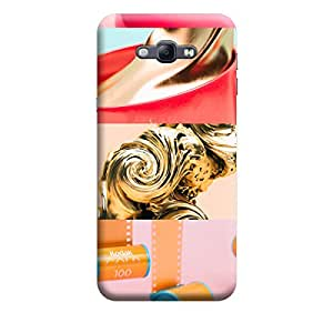 Ebby Premium Printed Mobile Back Case Cover With Full protection For Samsung A8 (Designer Case)