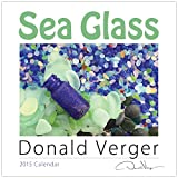2015 SEA GLASS Fine Art Nature Wall Calendar 12X12 - A Unique Great Birthday, Anniversary, Valentines Day, Mothers Day, Wedding & Christmas Gift