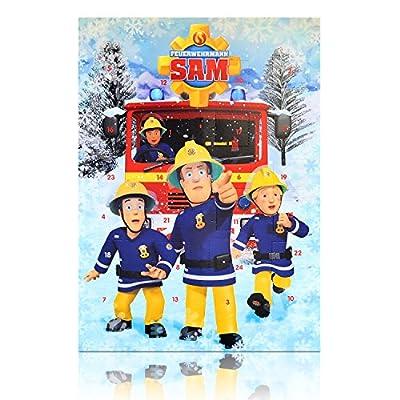 Feuerwehrmann SAM Adventskalender 75g Schokolade