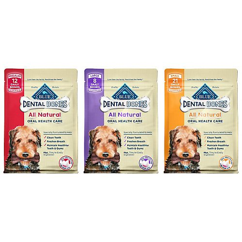 Blue-Buffalo-Blue-Bones-Mini-Size-Dental-Chews-for-Dogs-5-15-lbs-27-Ounce-Value-Pack-Packaging-May-Vary
