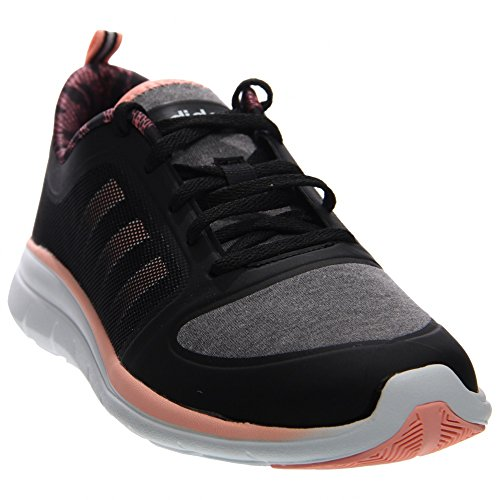 Adidas Women's X Lite Sneaker Black/Light Flash Red/White 8 M