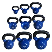(Set) Vinyl Coated Kettbell @ LOWEST PRICE from 5, 10, 15, 20, 25, 30 lbs - Great quality at LOWEST Promotinal Price