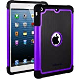 HHI Aero Armor Case for iPad mini - Purple (Package include a HandHelditems Sketch Stylus Pen)