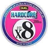 デュエル ハードコア X8 200m (1.0~2.0号) PEライン