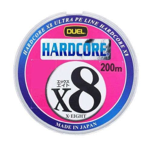 デュエル(DUEL) ライン HARDCORE X8 200m 1.0号