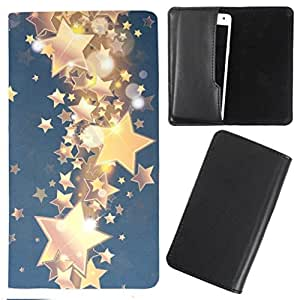DooDa - For Maxx GenxDroid7 AX402 PU Leather Designer Fashionable Fancy Case Cover Pouch With Smooth Inner Velvet