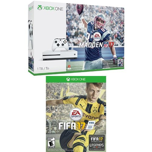 Xbox-One-S-1TB-Console-Madden-NFL-17-Bundle-and-FIFA-17