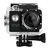 Sports Camera, Levin Action Camera 2.0 Inch 170 Degree Ultra-wide Angle Lens Full HD 1080p 12MP WiFi Remote Control Waterproof Sports Diving Camera with Accessories