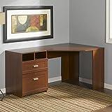 Wheaton Corner Desk Finish: Antique Black