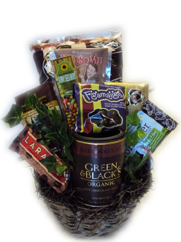 Dark Chocolate Lover's Healthy Gift Basket