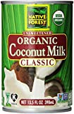 Native Forest Organic Classic Coconut Milk, 13.5-Ounce Cans (36 pack)