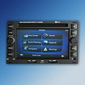 autoradio doppel 2 din navi dvd mp3 bluetooth vw golf. Black Bedroom Furniture Sets. Home Design Ideas
