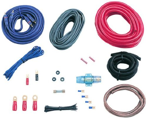 BOSS Audio KIT10 4 Gauge Amplifier Installation Kit